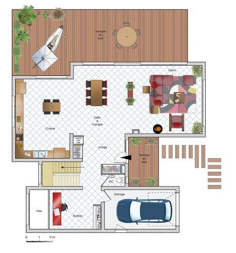 Une maison en bois Sims