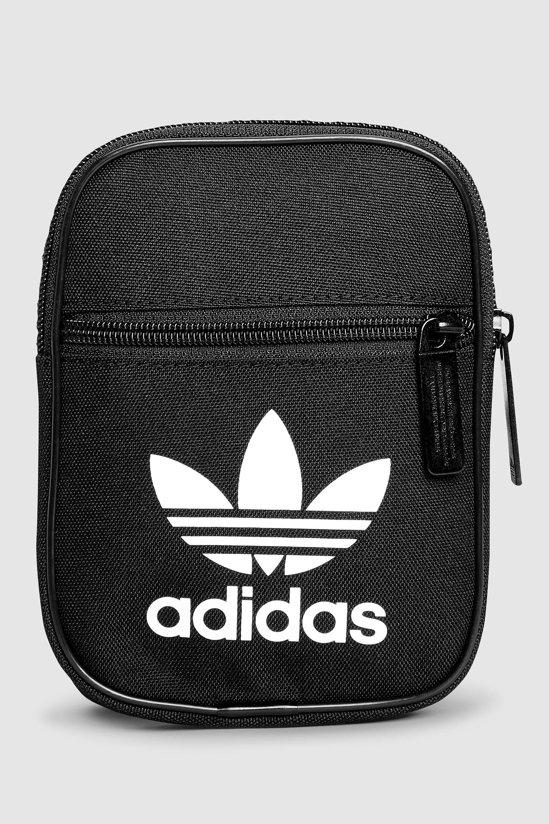 Mens adidas Originals Trefoil Festival Bag - Grey  bf21e7138359e
