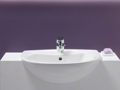 Kohler Sink Great For A Small Space Semi Recessed Sink