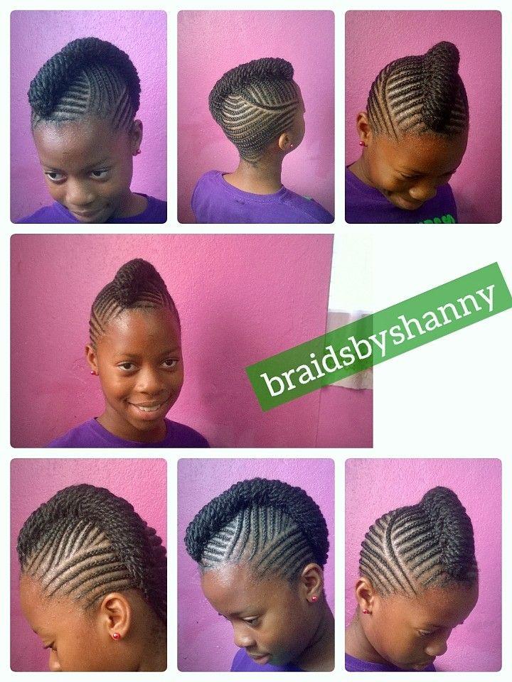 natural hair braided extension