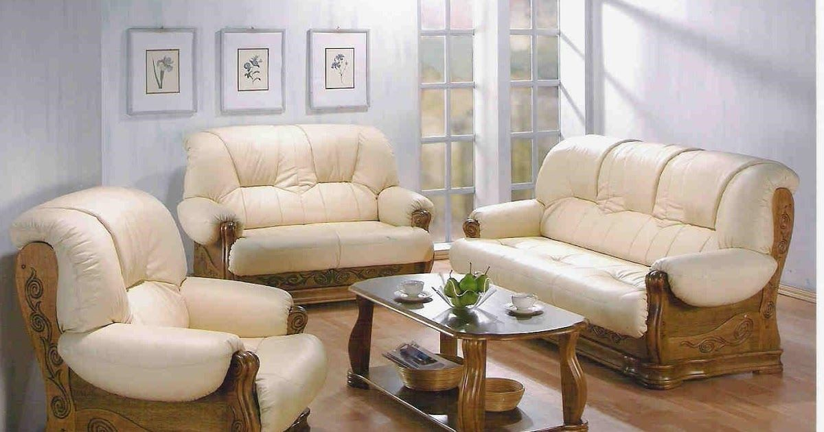 Trends For Simple Wooden Sofa Set Designs For Small Living Room
