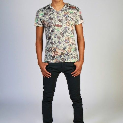 men's graphic tee - high life