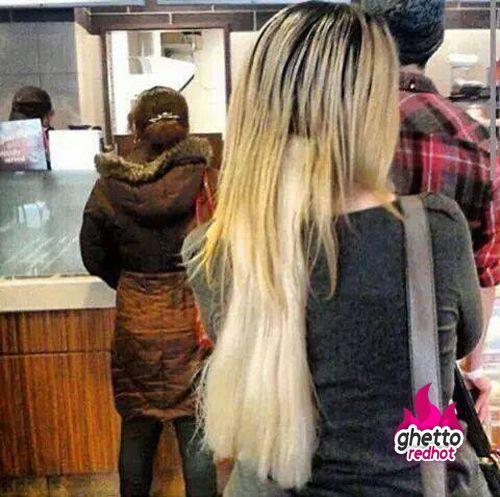 Endless madhouse when hair extensions fail funny weird when hair extensions fail pmusecretfo Images