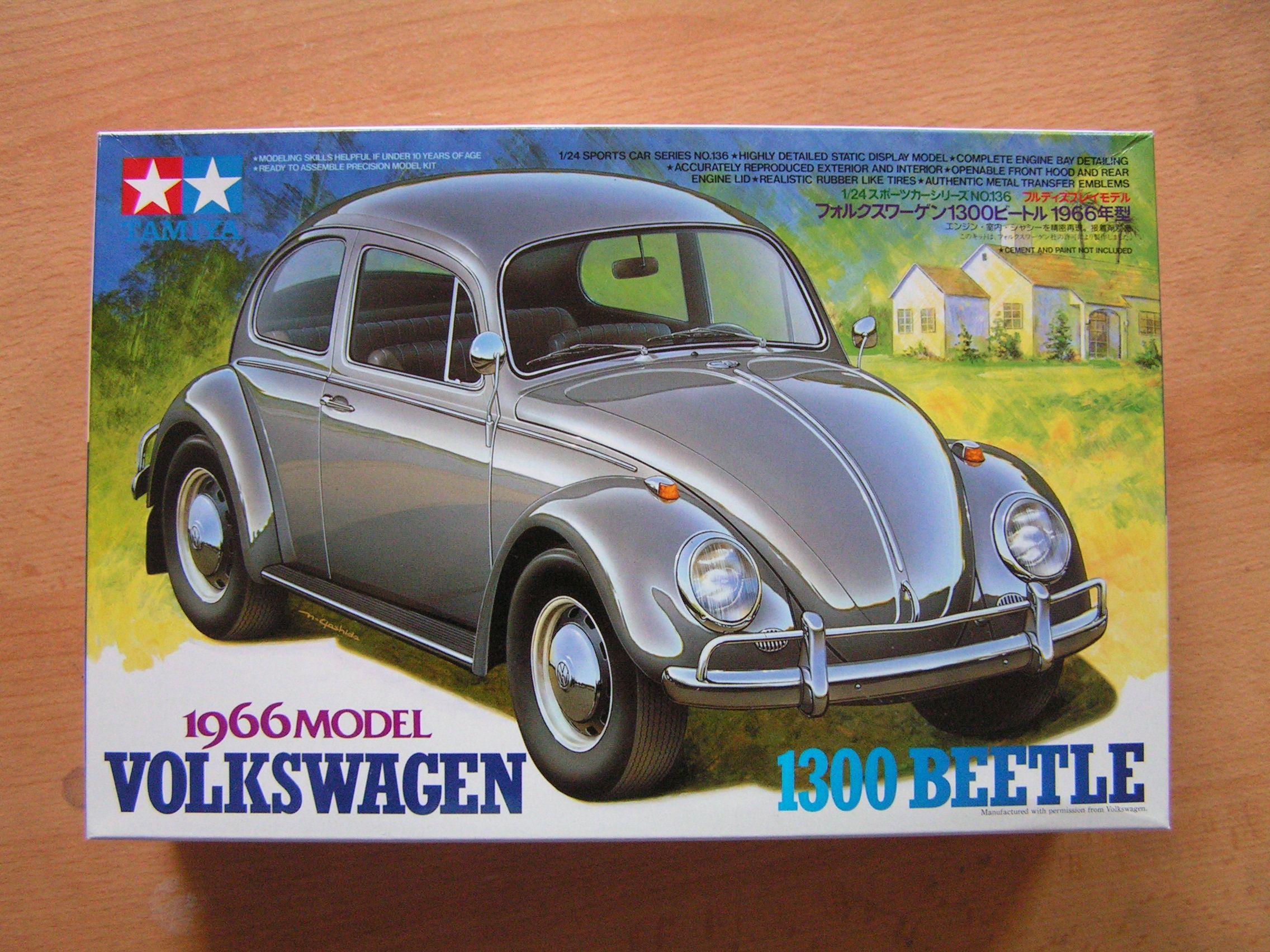tamiya volkswagen beetle - Google Search | Model Kit Box Art ...