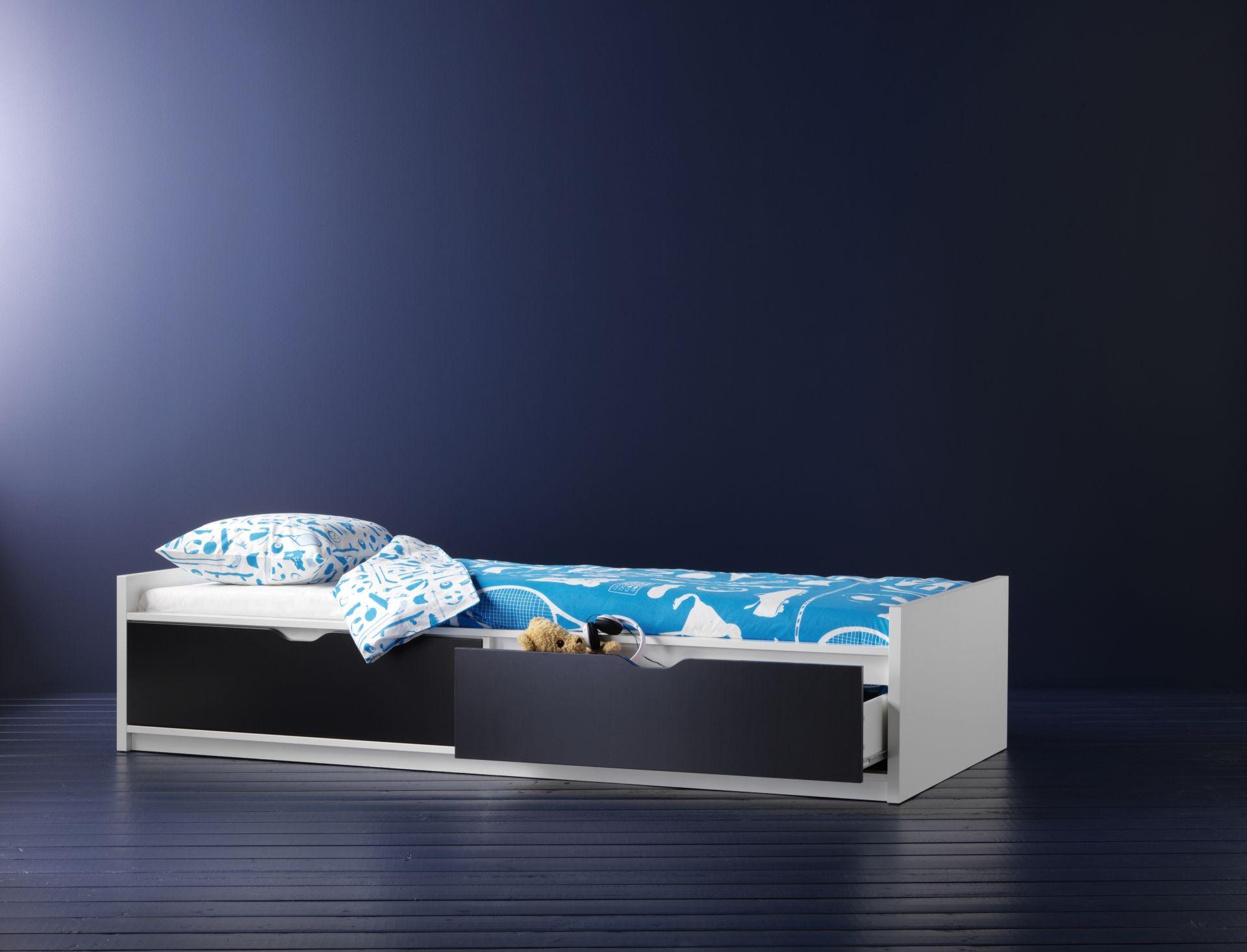 Ikea Commodes Slaapkamer : Flaxa bedframe met opberger lattenbodem #ikeacatalogus #nieuw