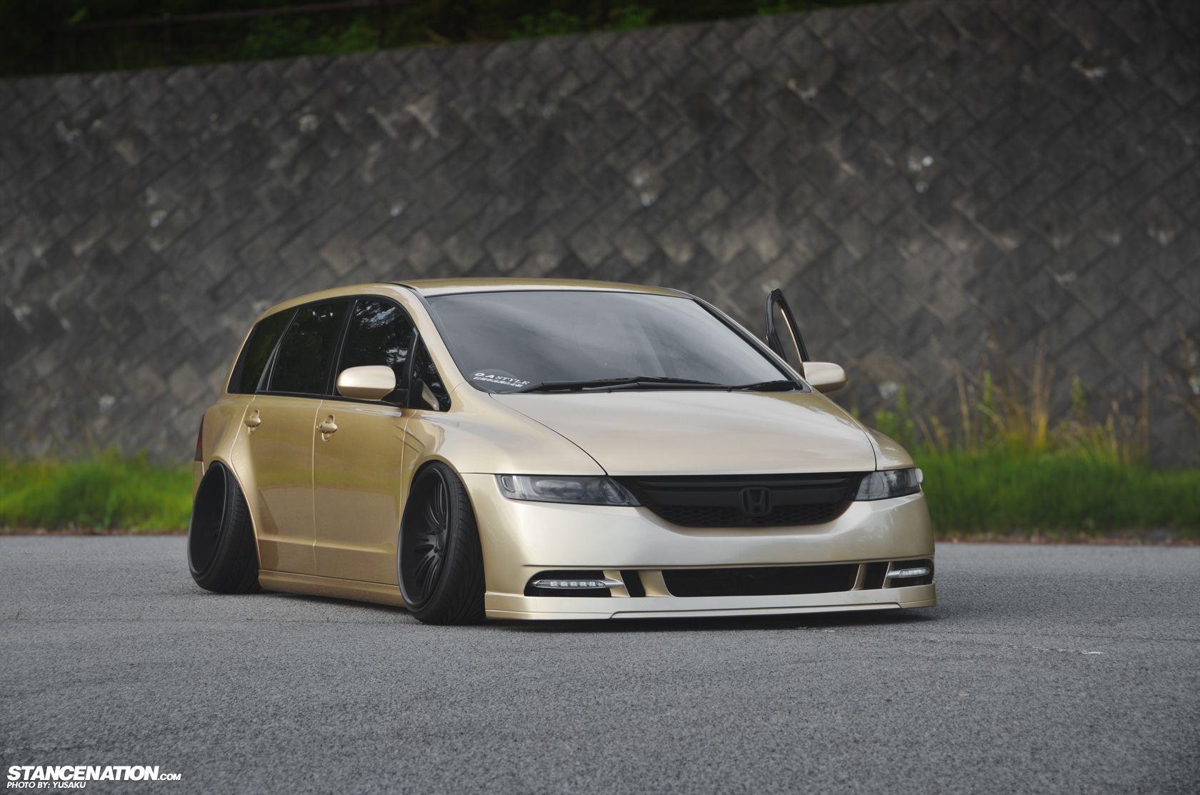 Made in Japan // Yusaku's awesome Honda Odyssey. Honda