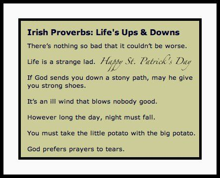 irish quotes and sayings about friendship | I Couldn't Have Said ...