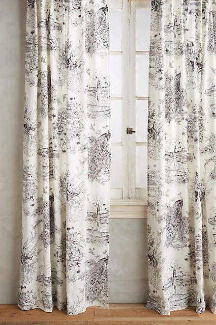 Willowherb Curtain Toile Curtains Curtains Curtain Styles
