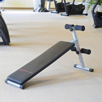 Crescendo Crescendo Fitness Slant Sit Up Bench From The Popular Company Lion Sports Inc Is A Great Ab Item That C No Equipment Workout Exercise Benches Diy Gym