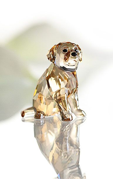Swarovski Golden Retriever Sitting