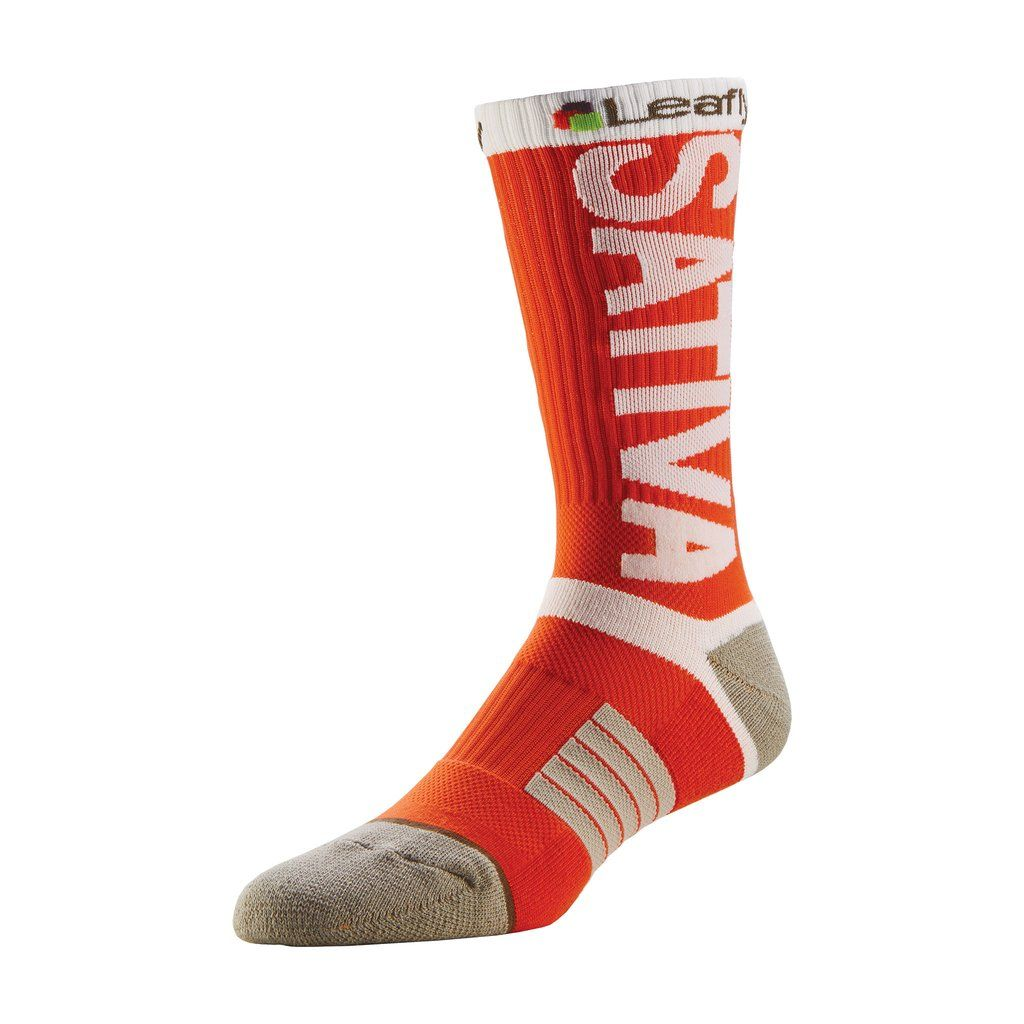 Leafly Sativa Athletic Crew Socks Leafly Store Crew