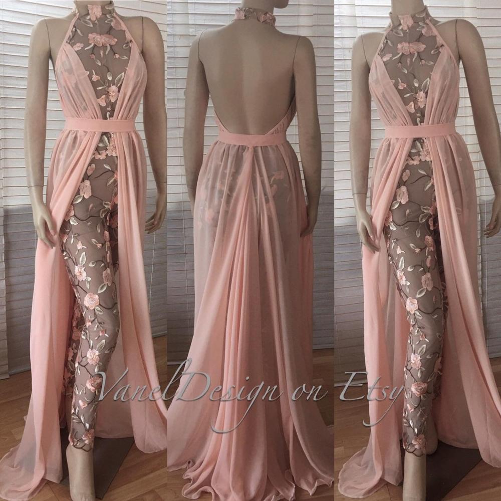 Bridal Jumpsuit, Wedding Dress, Bodysuit Detachable Skirt,Formal Bridesmaid Dress, Sequins Leggings Blush lace Reception Dress Long White