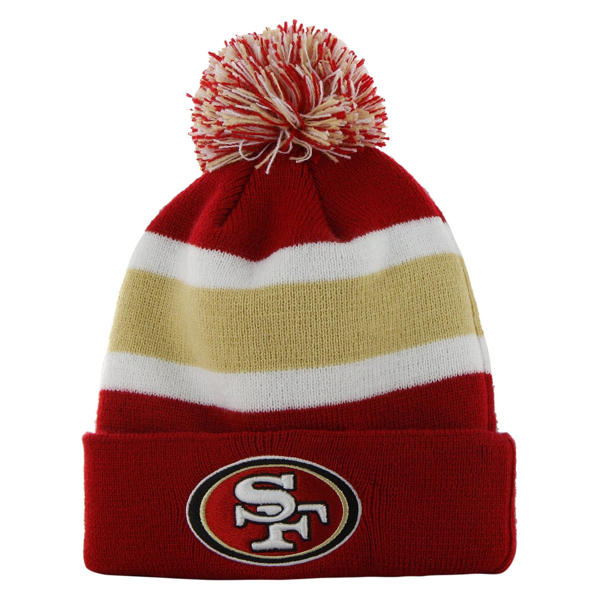 9eb3ac291 NFL Breakaway Beanie with Pom, San Francisco 49ers, Men's | Products ...
