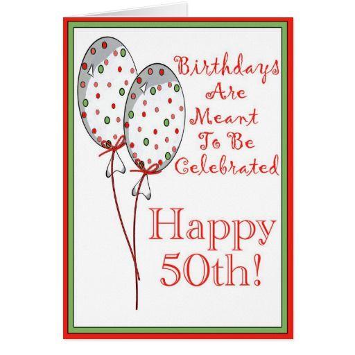 Fifty Birthday Cards Happy 50th Birthday Cards Zazzle 50th