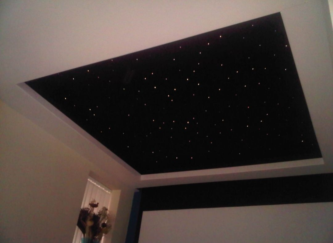 Star Ceiling Diy Starry Sky Ceiling Star Sky Ceiling Ceiling Stars Ceiling Murals Ceiling Stars Bedroo Star