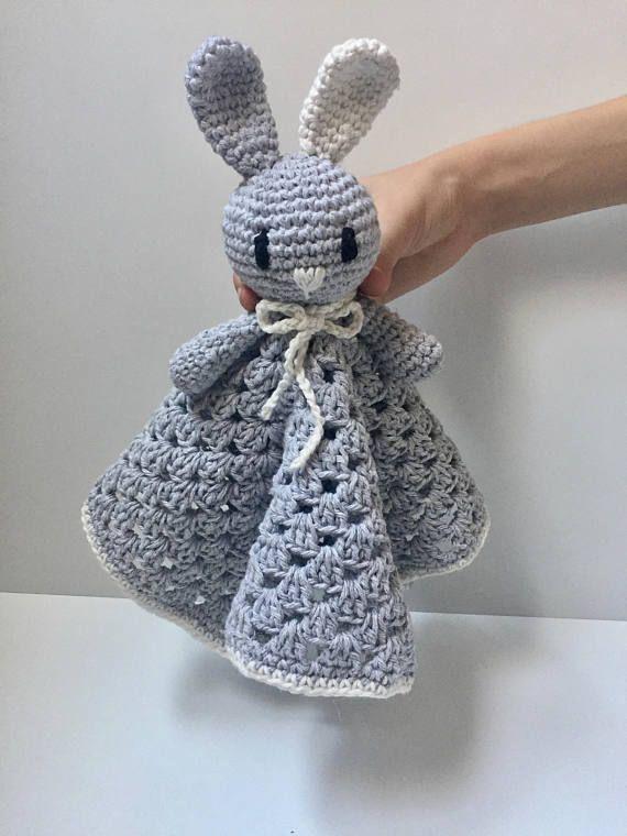 Baby doudou comforter toy blanket bunny Manta de apego para bebe Juguete manta para bebe conejo