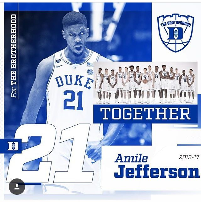 buy popular 28377 dc5ce Amile Jefferson | Duke Basketball - Amile Jefferson | Duke ...