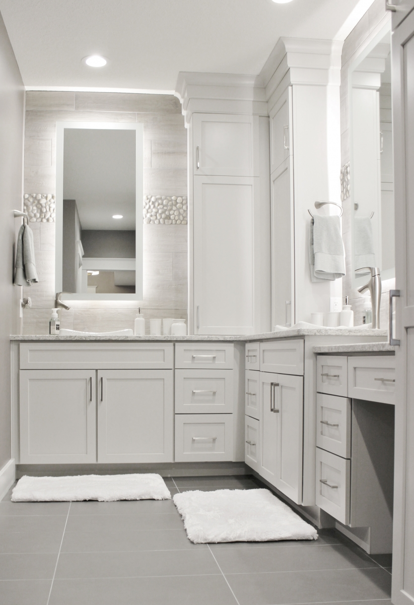 Best Gray Paint For Bathroom Cabinet