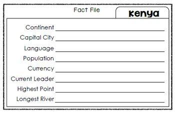 human geography of kenya
