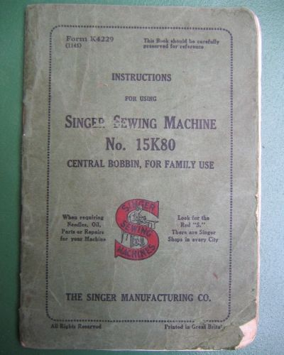 Singer 40k40 Sewing Machine Instruction Manual Vintage Sewing Mesmerizing Sewing Machine Manuals Online