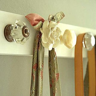 Drawer pulls made into coat rack