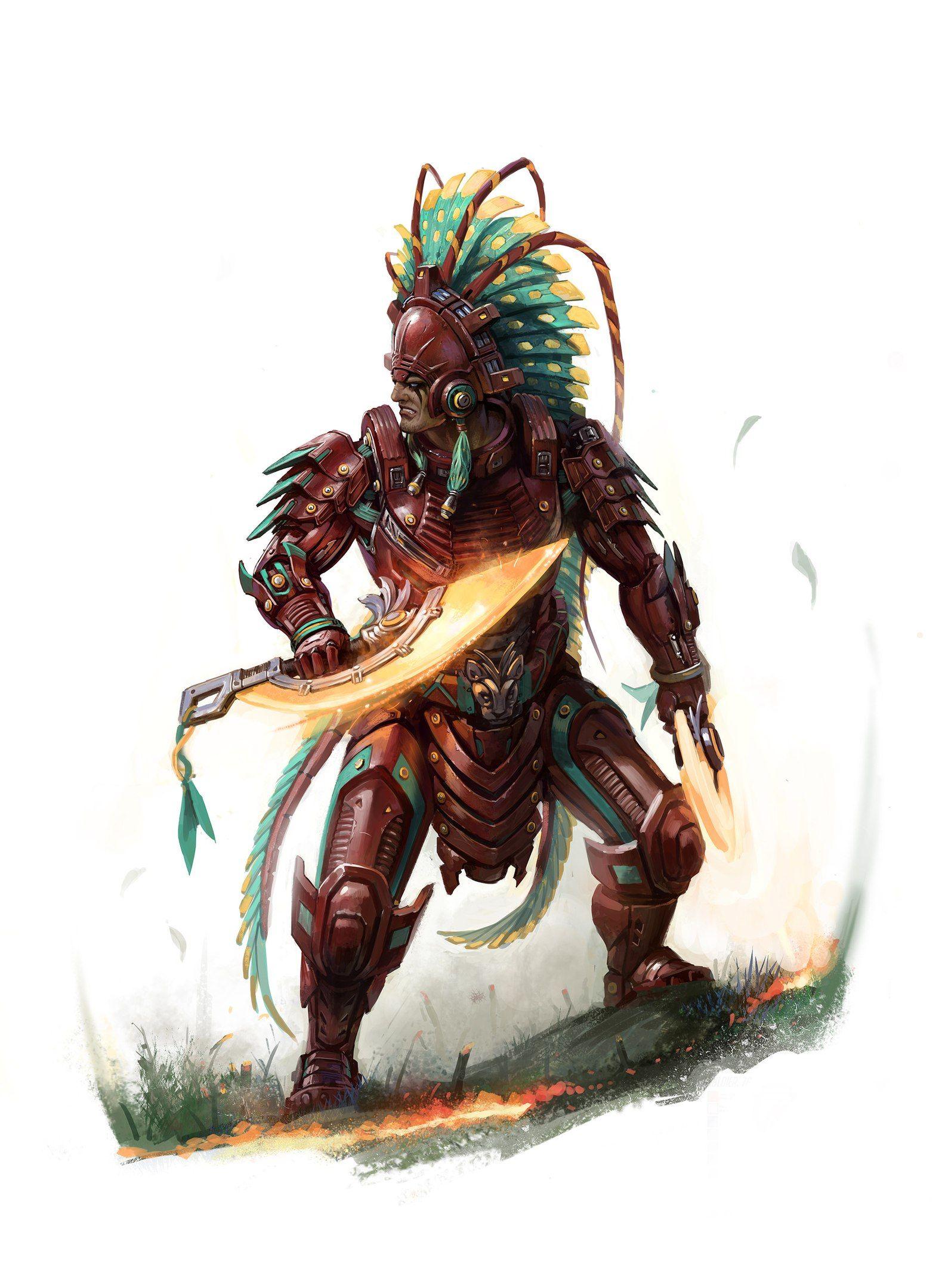 Cyber-Aztec
