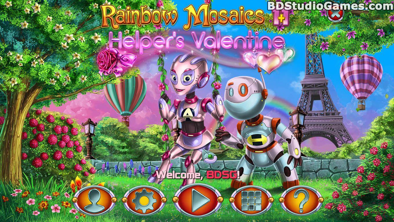 Rainbow Mosaics 11: Helper's Valentine Game Free Download