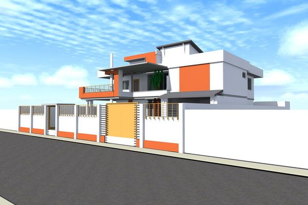 House Draft Moderne Africa House Design Architecture Design