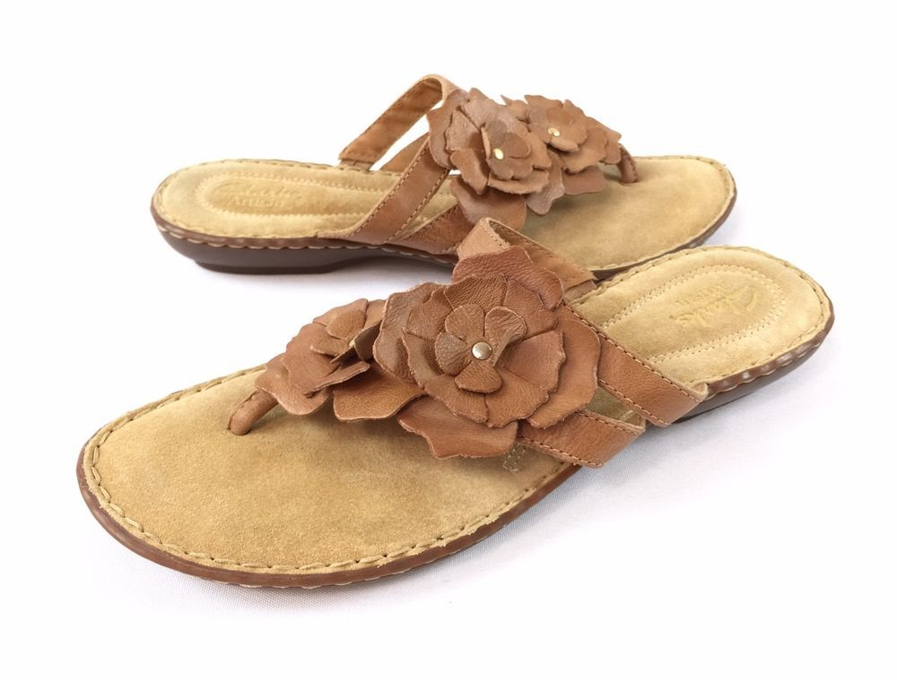 clarks thong sandals clearance