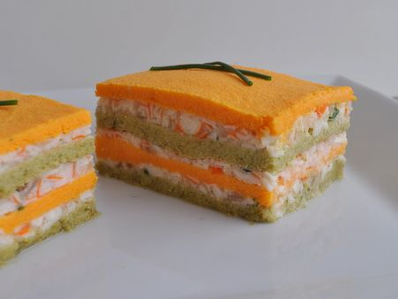 Entr e l gumes originale recette mille feuille de flan for Entree simple originale