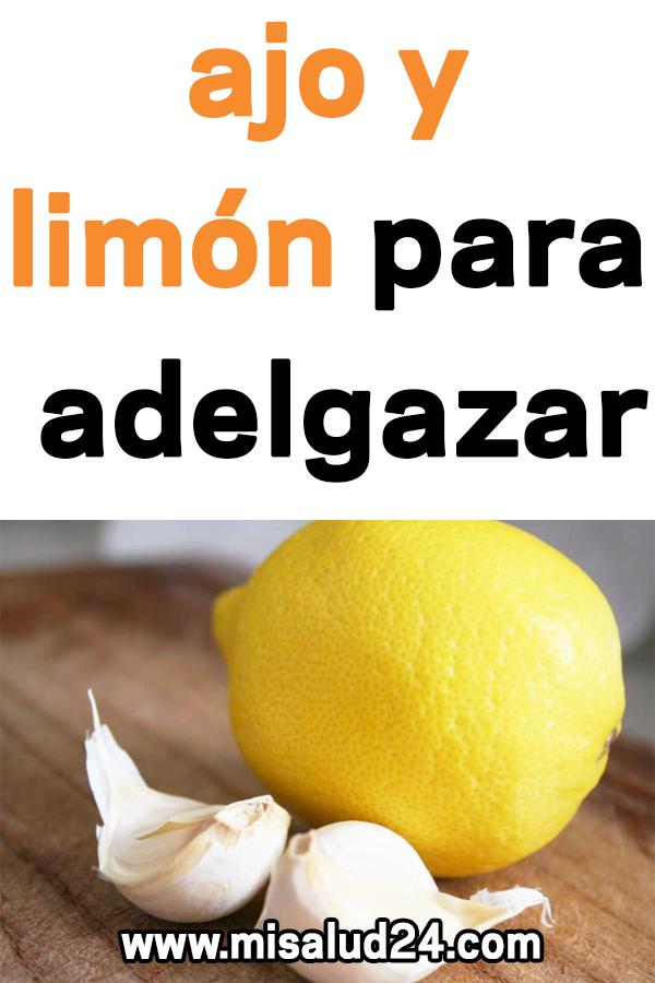 jugo de ajo y limon para adelgazar