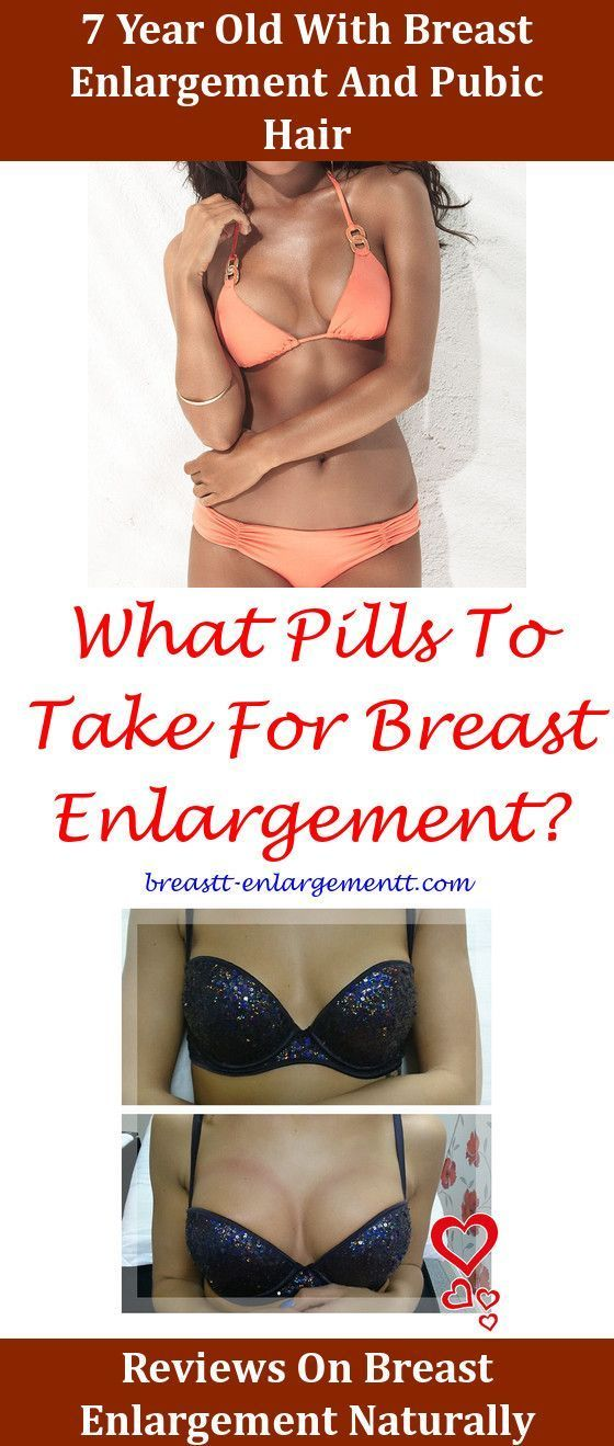 Natural breast enlargement for men