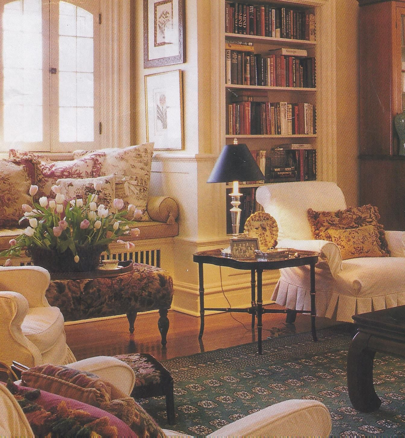 Victoria Magazine  Traditional decor  English living