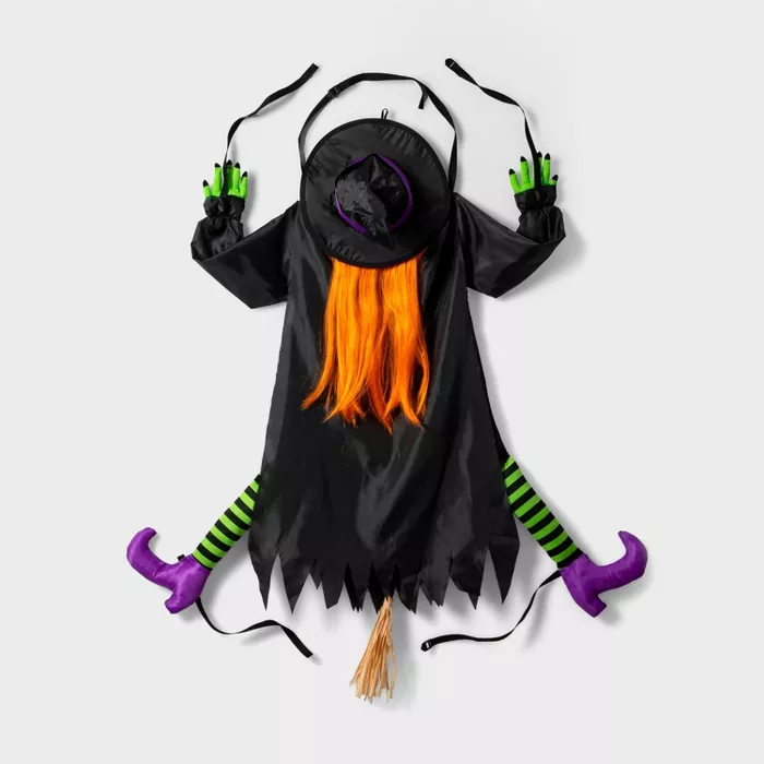 Crashing Witch Halloween Decor Hyde & EEK! Boutique™ in