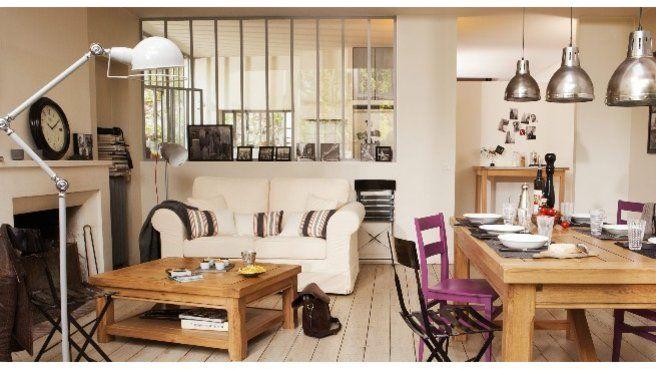Quelle couleur accorder avec un salon de style industriel ? | Salon ...