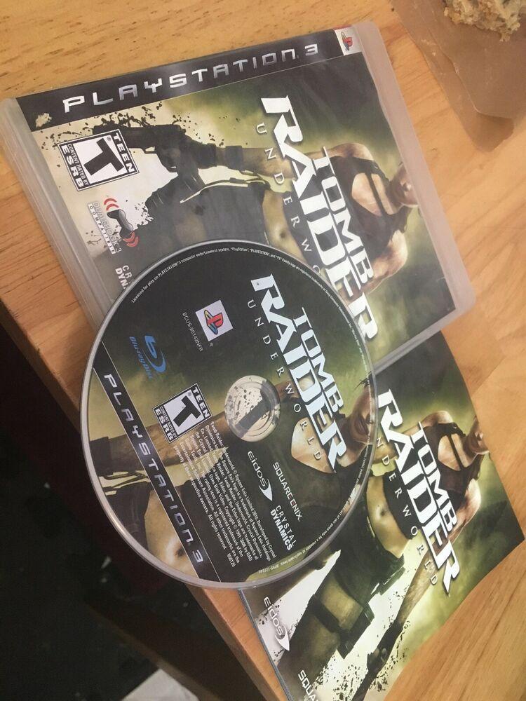 Playstation 3 PS3 Tomb Raider Underworld, Complete CIB #ps4 #gaming