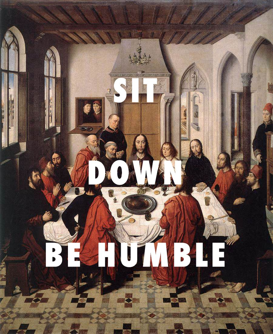 Wicked Or Weakness Last Supper 1465 Dirk Bouts Humble