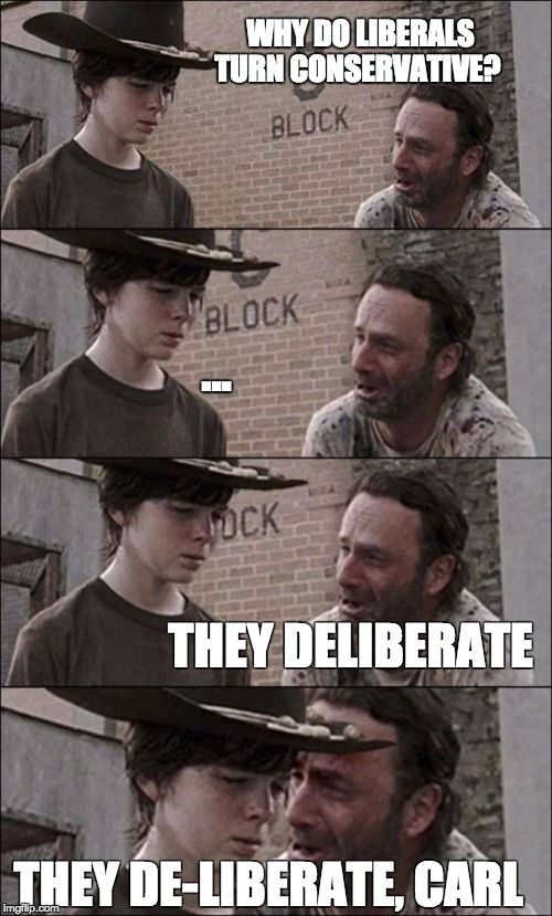 Carl's political lesson