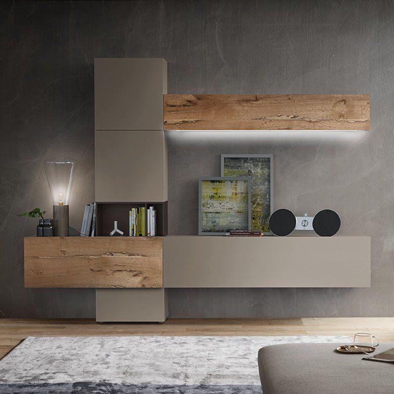 Risultati immagini per parete attrezzata moderna | Home design ...