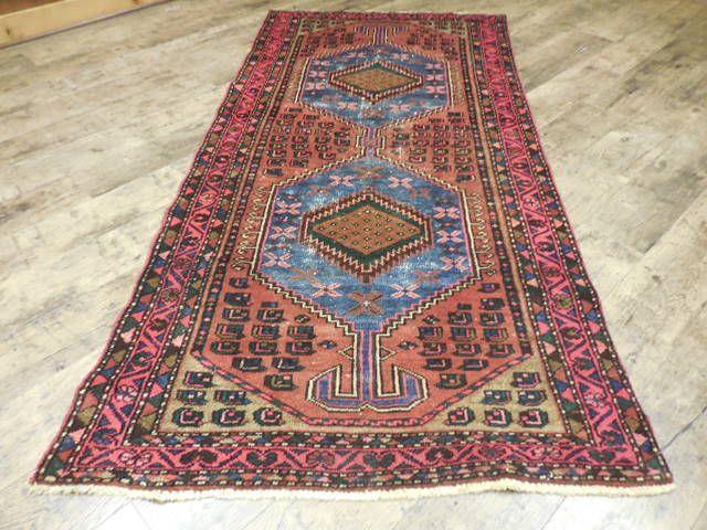 C1930vgdy Antique Persian Kurdish Bijar Serapi Heriz 3 3x6 10