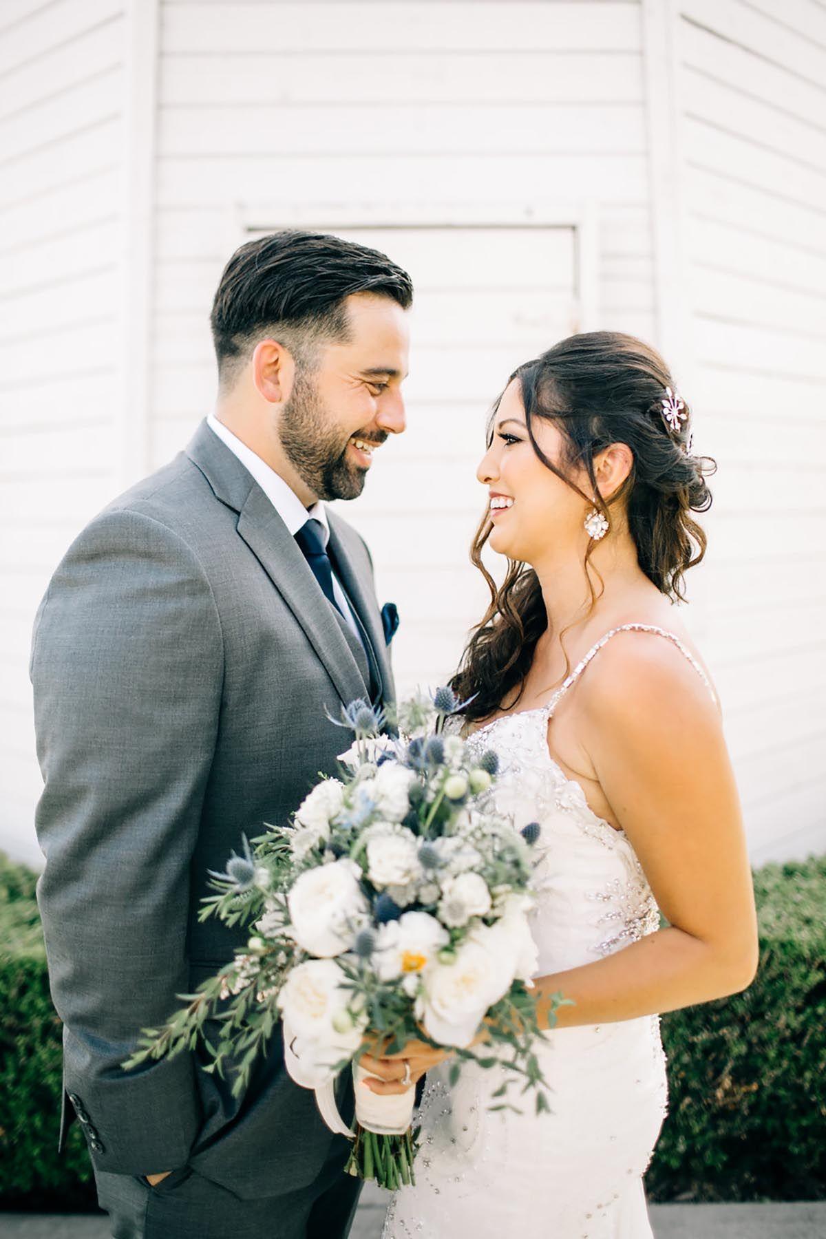 Rustic Outdoor Wedding // Huntington Beach, CA   Barn wedding