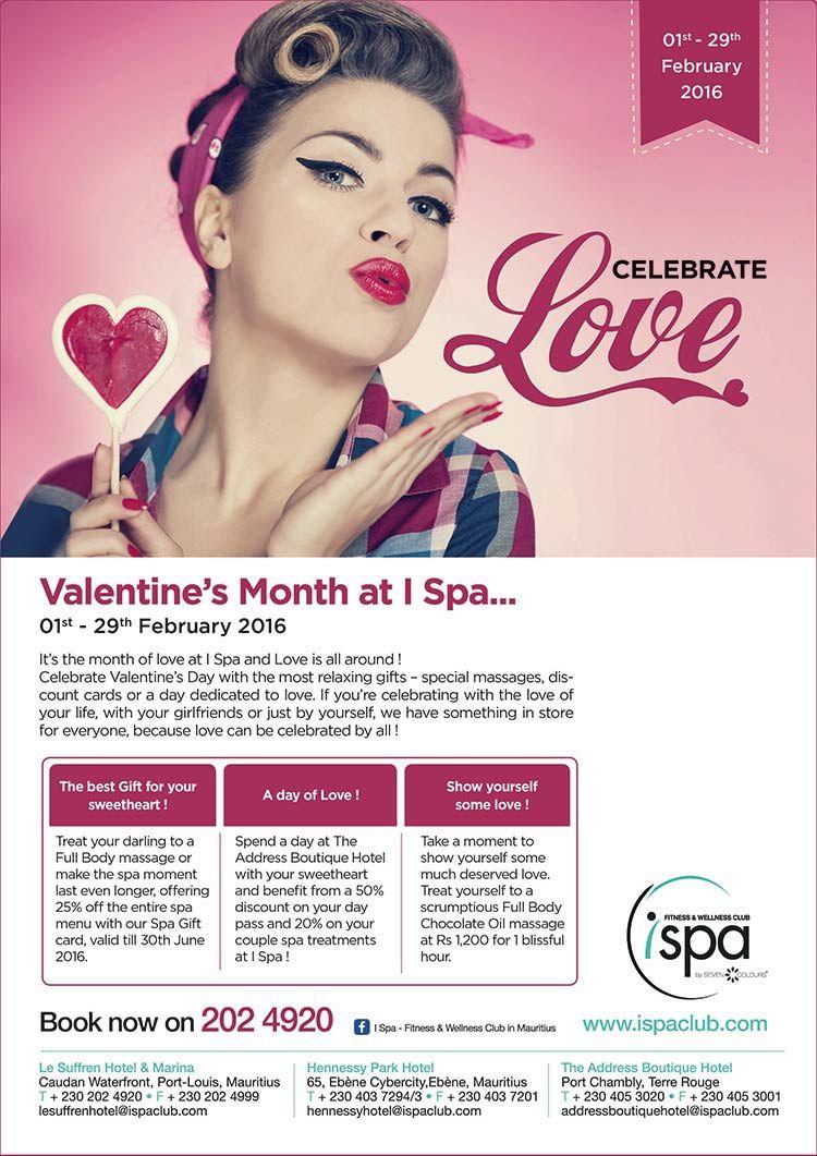 3ac2938e94b7 I Spa at Indigo Hotels - Special Valentine s Month. Tel  202 4920 ...