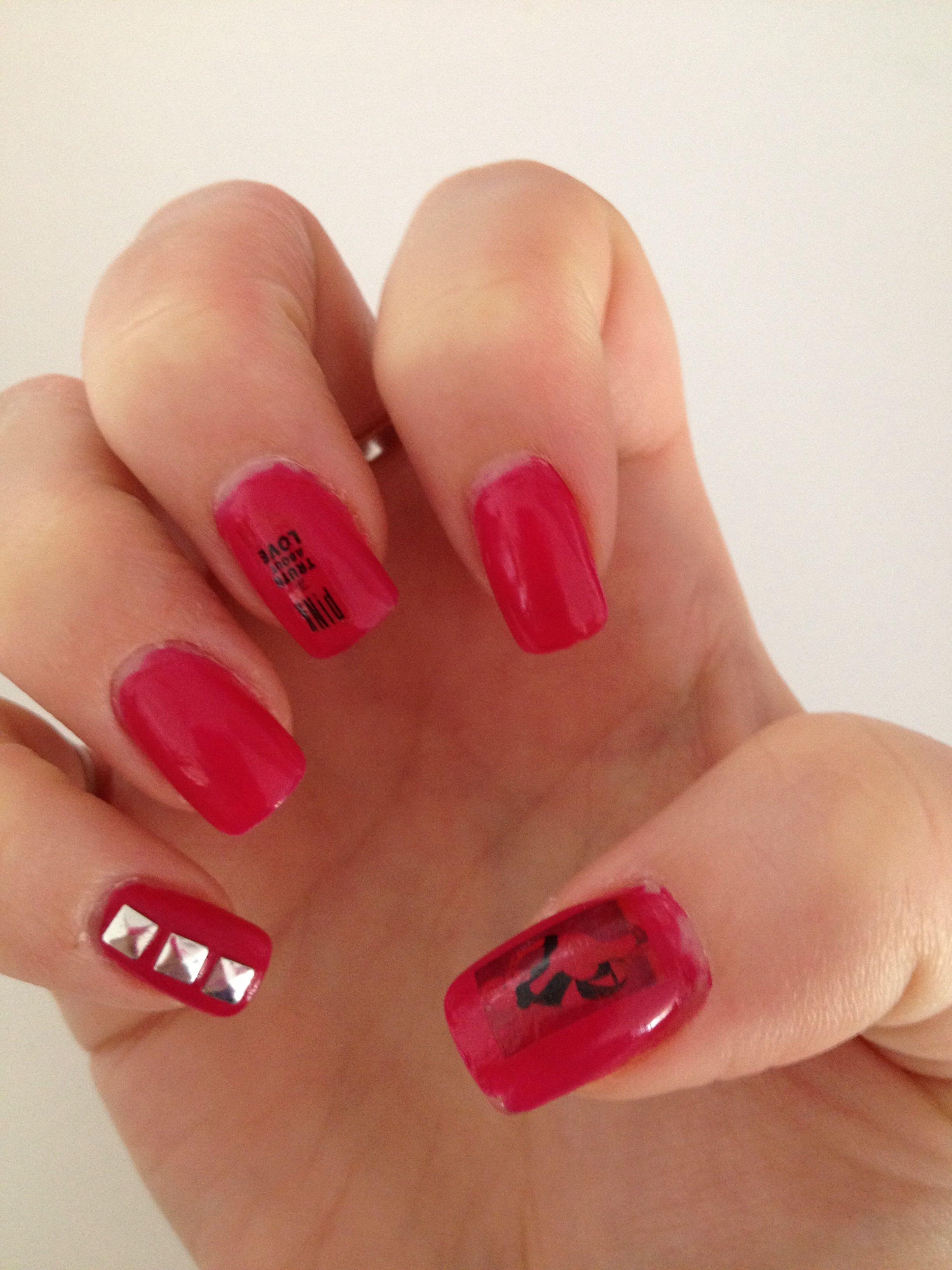 P!nk nails for her concert | Nails | Pinterest