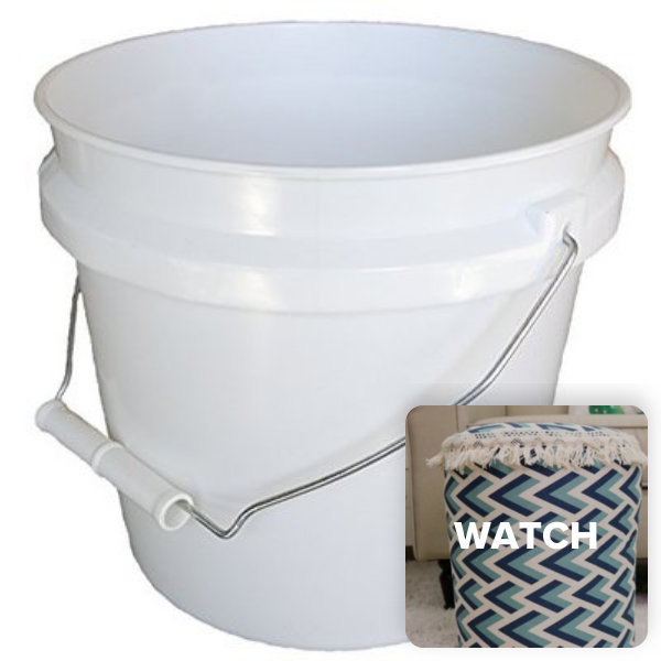 Watch The Video To See How To Use Leaktite 744456 1 Gallon White Plastic Pail Paint Pail Container Review Productr Plastic Pail Paint Pails Plastic Buckets