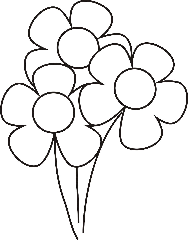 Mi colección de dibujos: Flores para pintar | daasdad | Pinterest ...