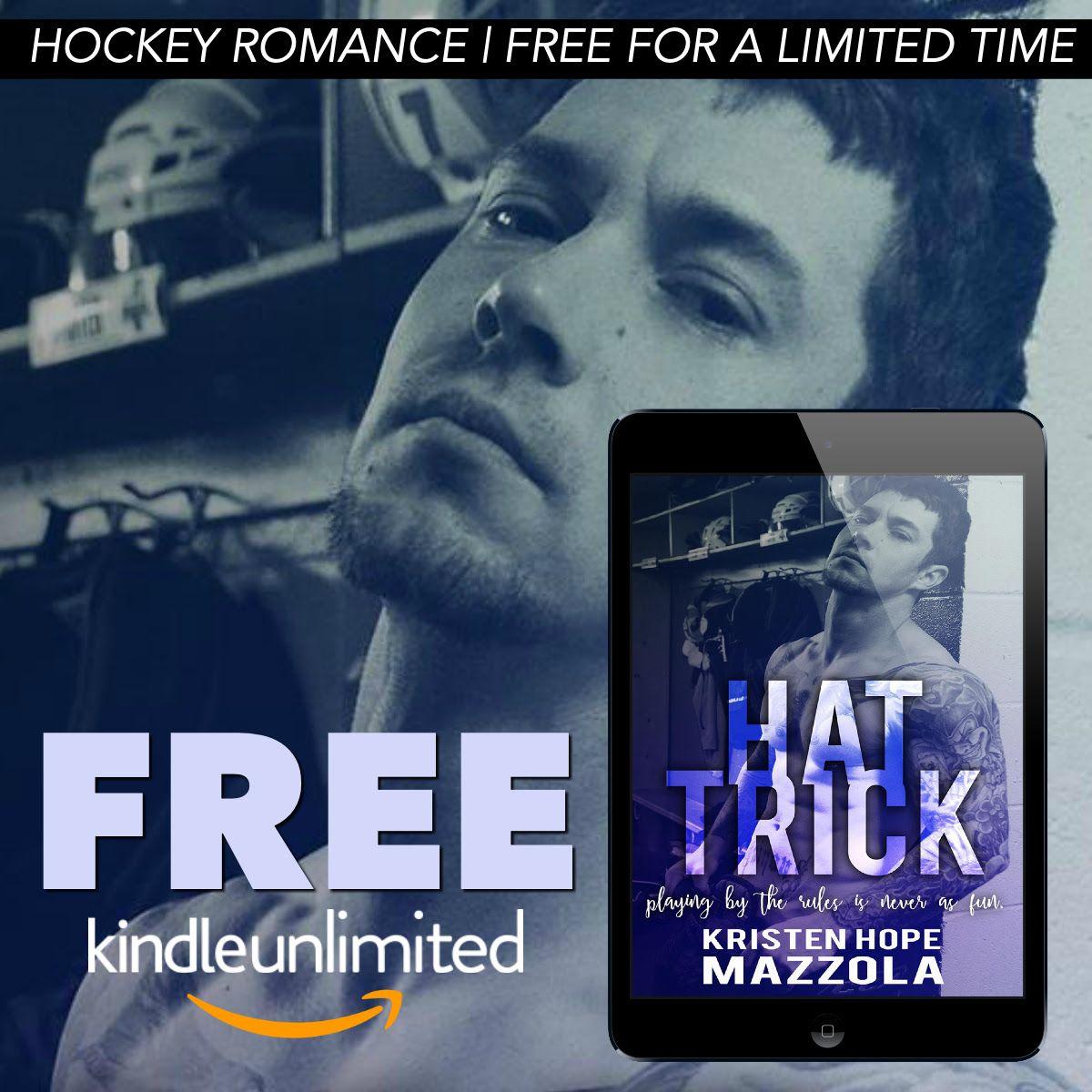 I Love Romance Freebie Alert Hat Trick By Kristen Hope Mazzola Book Deals Book Lovers Author