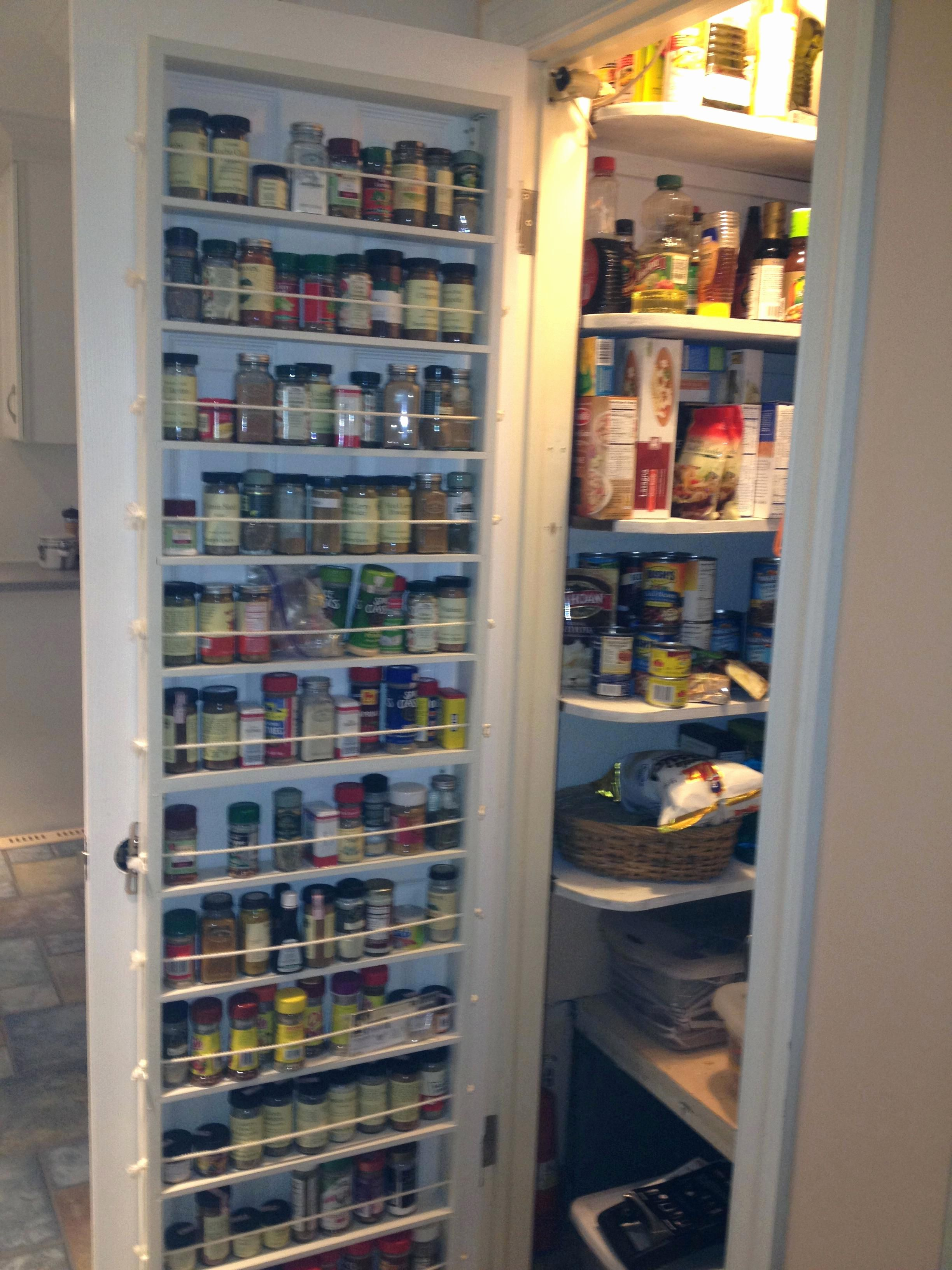 Spice Storage For Cabinets Wall Mount Rack Tar Costco   Door spice ...