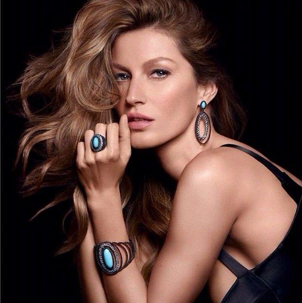 900aff01c Gisele Bündchen posta clique pra lá de sexy da nova campanha da Vivara
