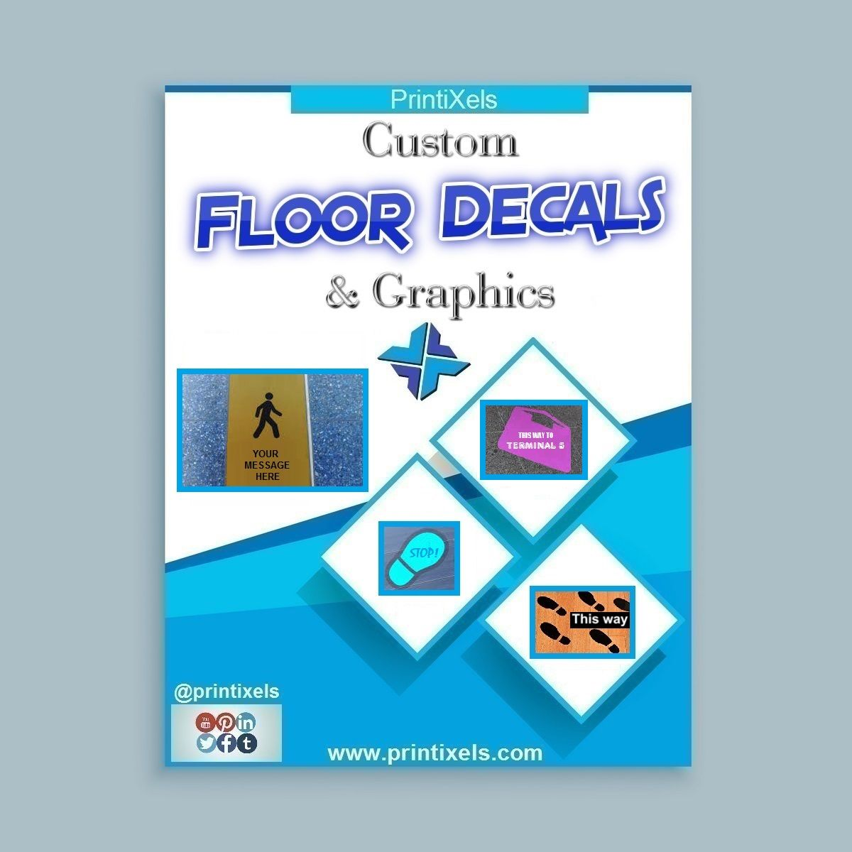 Car sticker maker philippines - Custom Floor Decals Graphics