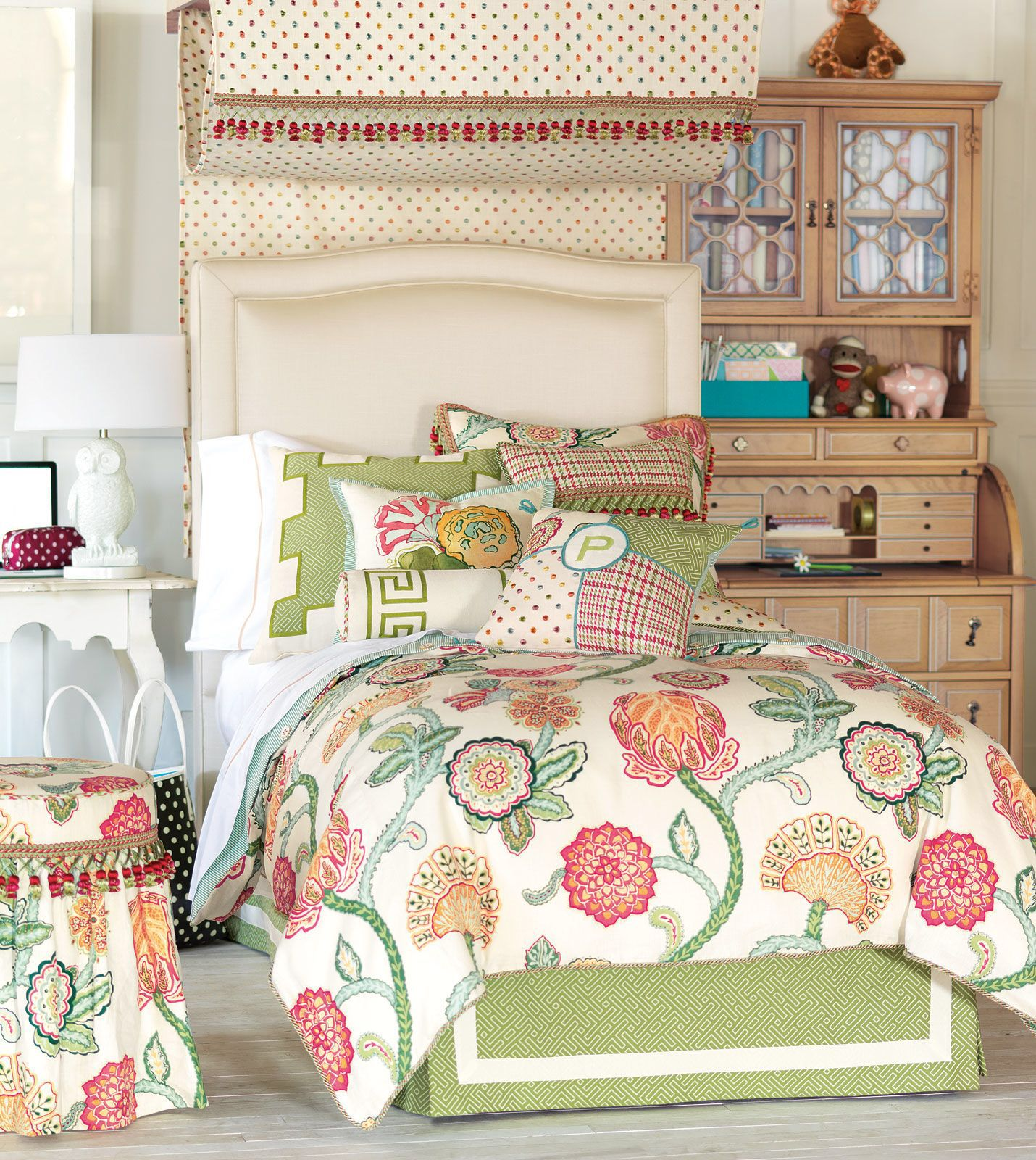 Eastern Accents Portia Duvet Cover Set Collection Bed